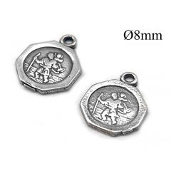 3246s-sterling-silver-925-octagon-people-coin-pendant-8mm-with-loop.jpg