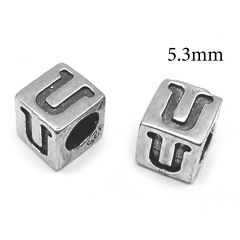 4994us-sterling-silver-925-alphabet-letter-u-bead-5mm-with-hole-3mm.jpg