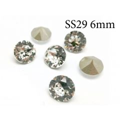 6mm SS29 1088 Swarovski Undrilled Fancy Stones Crystal Foil Back