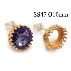 95016-956320b-brass-round-crown-bezel-cup-post-earrings-10mm.jpg