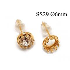 95016-956330b-brass-round-crown-bezel-cup-post-earrings-6mm.jpg