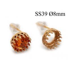 95016-956335b-brass-round-crown-bezel-cup-post-earrings-8mm.jpg