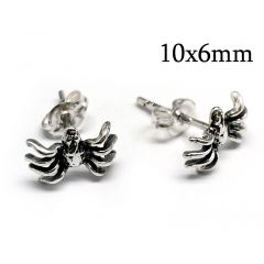 95023-10908s-sterling-silver-925-spider-post-earrings-10x6mm.jpg