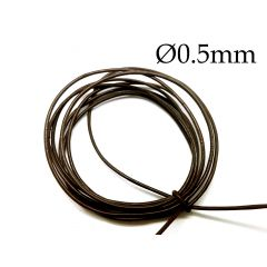 950965rbr-dark-brown-round-leather-cord-0.5mm.jpg