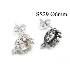 950186-956346s-sterling-silver-925-round-crown-bezel-cup-post-earrings-6mm-with-loop.jpg