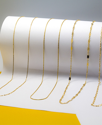 Sterling Silver and Gold filled Chains