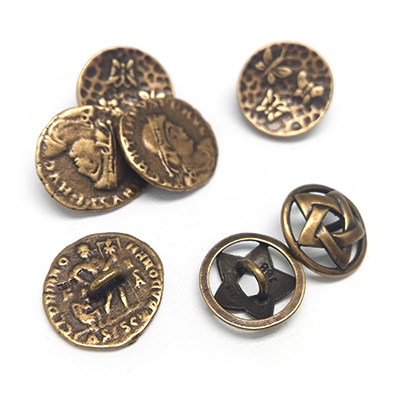 Buttons for your jewelry and wear
